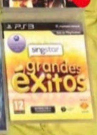 SingStar Grandes Éxitos PS3