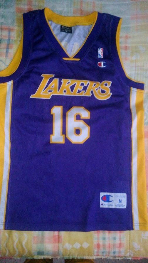 Lakers camiseta baloncesto