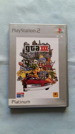 GRAND THEFT AUTO 3 (GTA III) - PLAY 2 - CAMBIOS OK