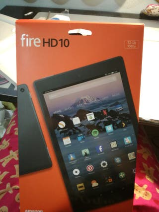 Protector pantalla Tablet fire HD 10 amazon