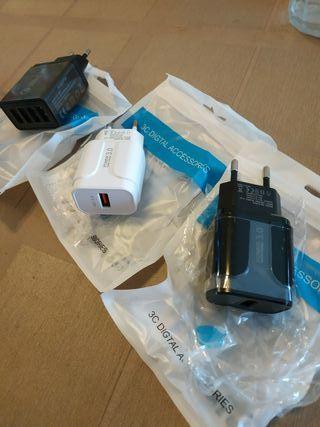 cargador USB 5 y 9v carga rapida
