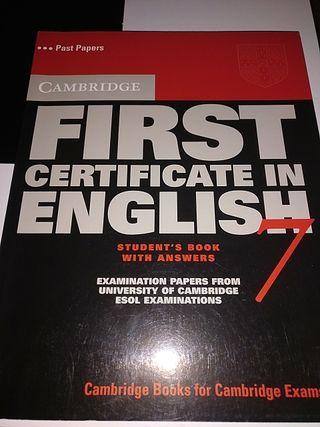 First Certificate English - Cambridge