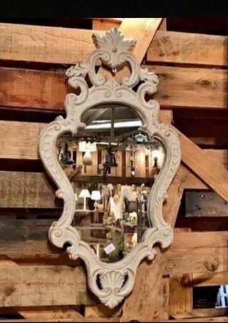 Espejo barroco de madera