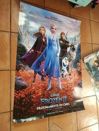 poster Frozen 2 cartelera de cine