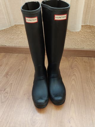 Set Botas Hunter + Calcetines + limpiador