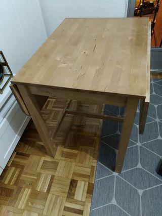 conjunto de mesa de cocina y sillas
