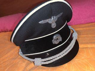 Gorra de plato Wehrmatch Oficial SS