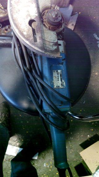 radial o maquina de disco bosch grande o amoladora