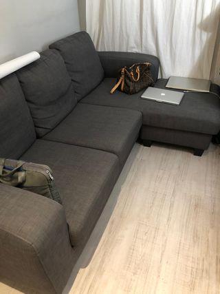 Sofa de Ikea gris oscuro 2017