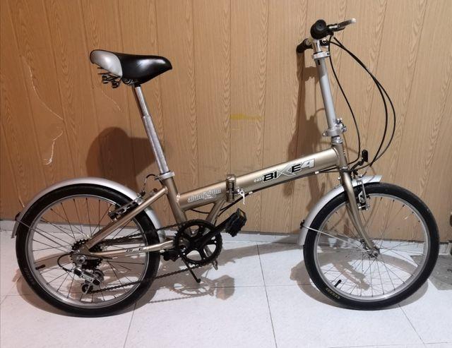 Bicicleta plegable de aluminio. folding bike
