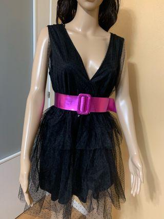 Vestido negro fiesta talla M