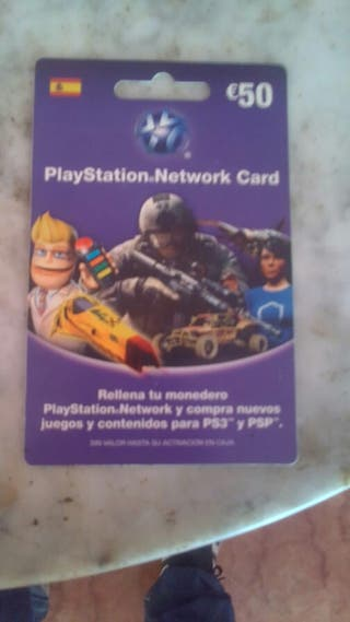vendo tarjeta de un año para consola ps3 o ps