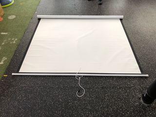 Pantalla para proyector 180x180 cm