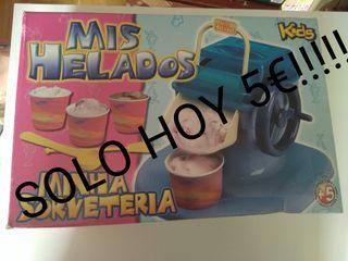 HOY!!! Mis Helados, Juguete hace auténticos helado