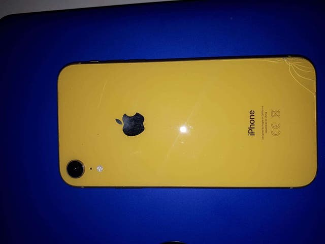 iphone xr yellow 64g