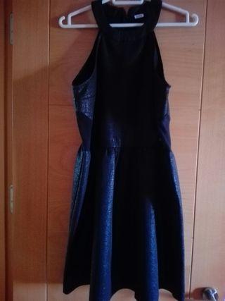 Vestido Fiesta negro talla M de Pinki.
