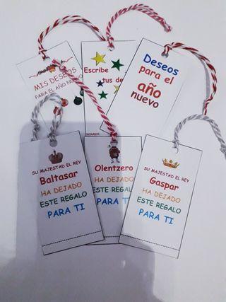 Etiquetas Navidad 1