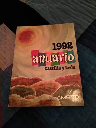 Anuario Castilla y León del año 1992.