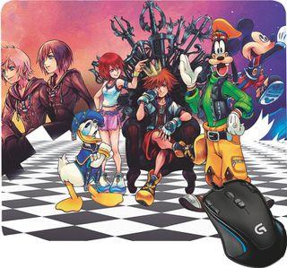 Alfombrilla de ratón Gamer - Kingdom hearts
