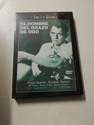 el hombre del brazo de oro dvd
