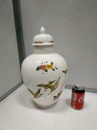 Tibor antiguo años 20 ceramica española pintado