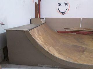 skateboarding súper miniramp 3.60 m de copin