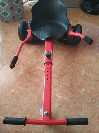 Hoverboard + silla+ bolsa transporte