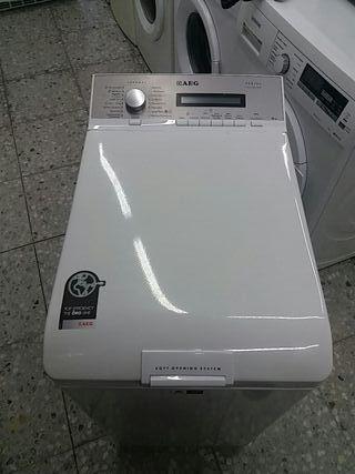 lavadora superior AEG