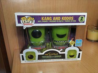 Funko pop kand and kodos 2 pack sdcc 2019
