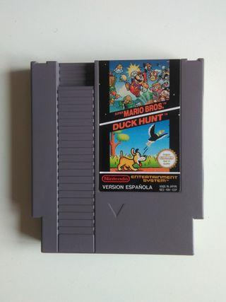 Videojuego Super Mario Bros / Duck Hunt