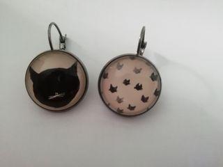 pendientes gatitos
