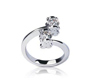 Anillo TOUS Sweet Diamonds - Talla 9