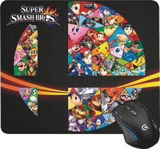Alfombrilla de ratón Gamer - Super Smash bros