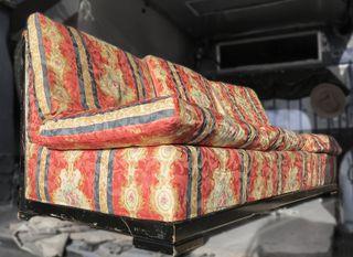 SOFÁ cama precioso de 3plazas estilo vintage