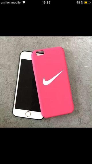 Funda iPhone 6/6S rosa nike