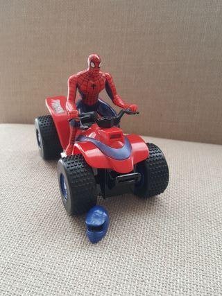 Moto Squad Spiderman Salvaobstáculos