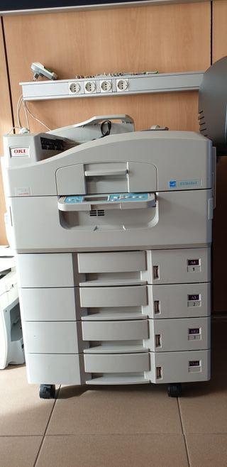 impresora fotocopiadora escáner oki es340 a3