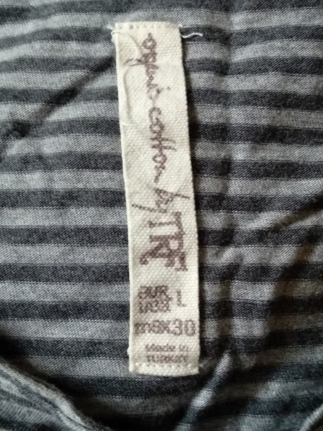 Camiseta algodón manga francesa