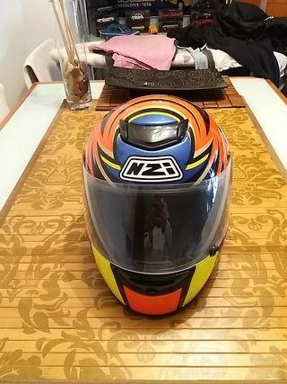 casco de moto NZI de niño