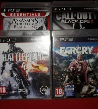 Juegos PS3 7€ cada uno