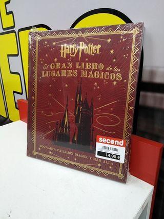Harry Potter El gran libro de los lugares mágicos