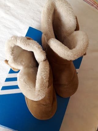 Botas marrones calentitas