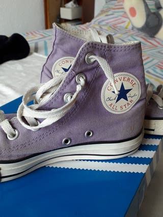Converse originales color morado