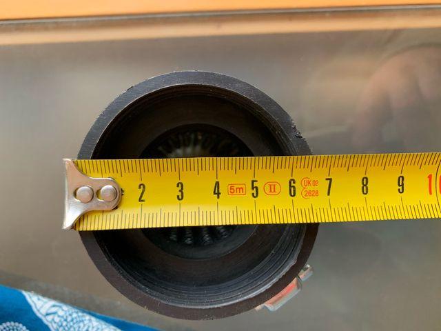 Filtro de aire cónico de alto flujo 60 mm diametro