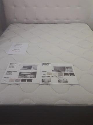 colchón y canapé
