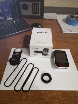 GPS velocímetro polar V650