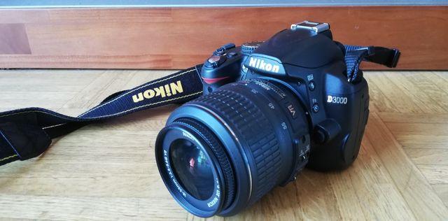 Cámara Reflex Nikon D3000