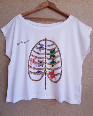Camiseta de mujer oversize