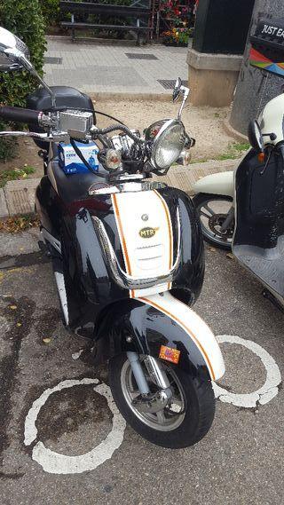 Motocicleta MTR Mallorca