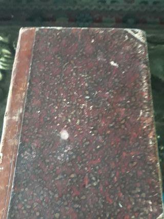 Libro antiguo, Partituras, Ejercicios para organo.
